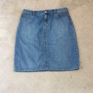 Dresses & Skirts - Jean skirt!